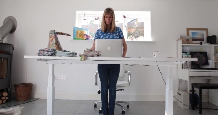 How to keep active when working from home
