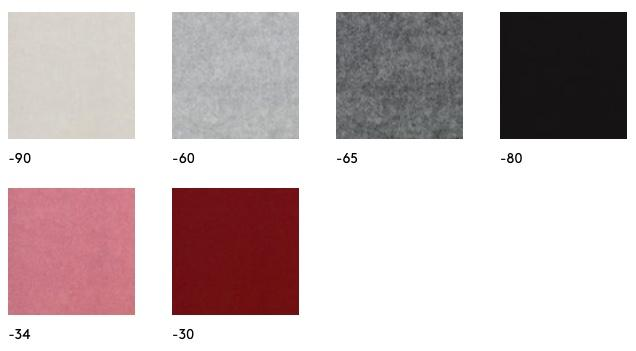Airflake screen panel colour options