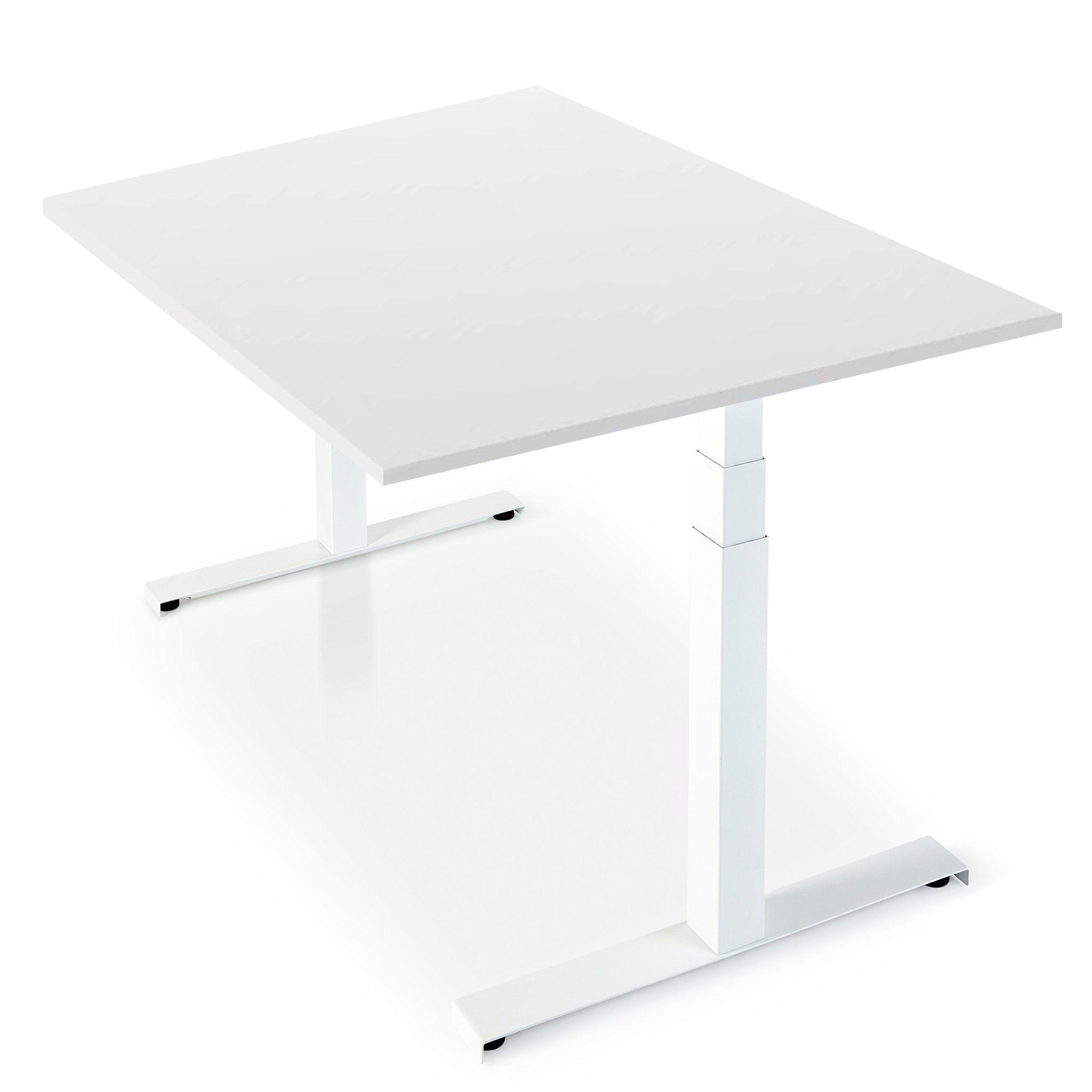 Fika White Standing Desk