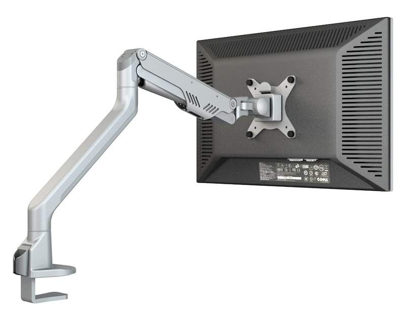Gas lift monitor arm, weight limit 10kg