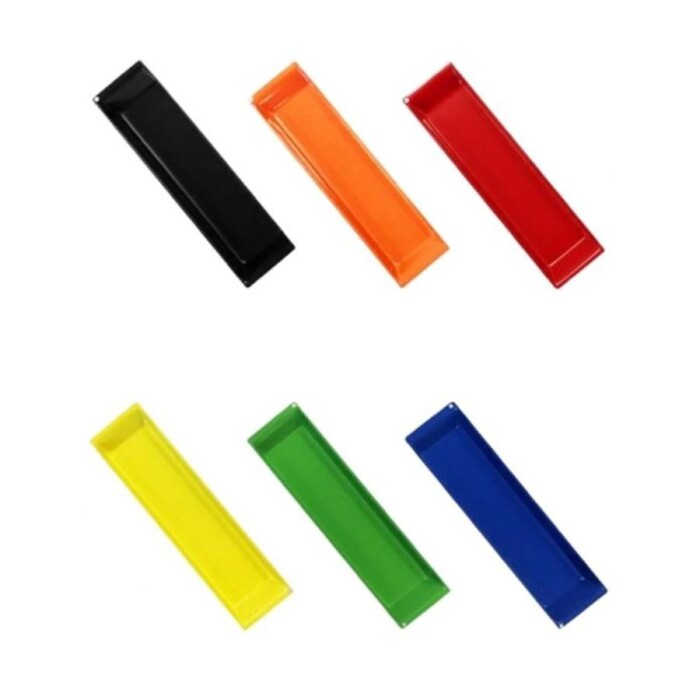 Mobile pedestal colour options for handle inserts