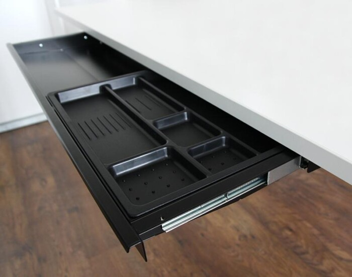 Pencil tray and extra wide under desk drawer 80cm