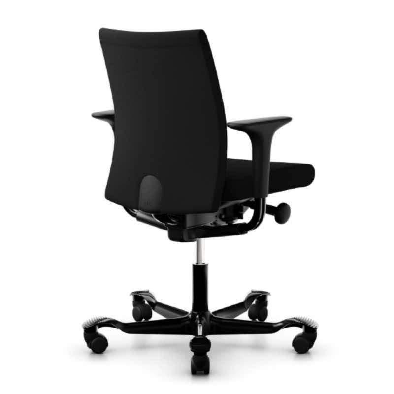 HAG Creed 6004 chair black select upholstery black base