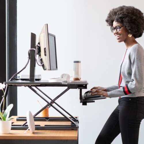 Desktop Risers & Stand Up Desk Converters