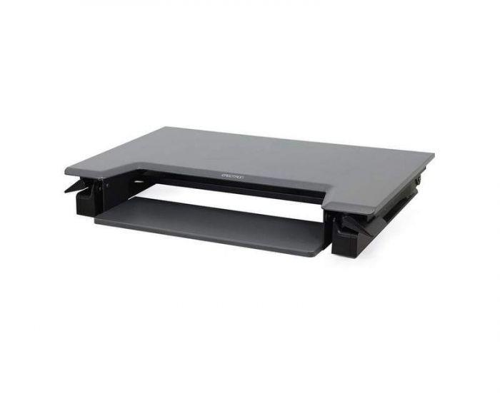 Black WorkFit-TL Standing Desk Converter from Ergotron