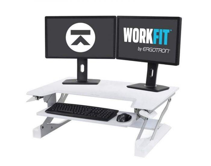 WorkFit-t Standing Desk Riser from Ergotron